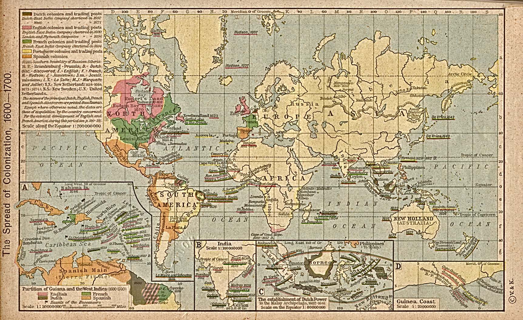 Map Of Us Globalinterco - Map of us around 1700